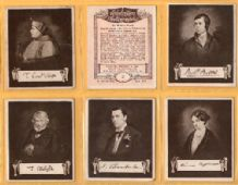 Cigarette cards Celebrities & their Autographs 1923